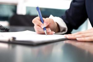 Писать документ